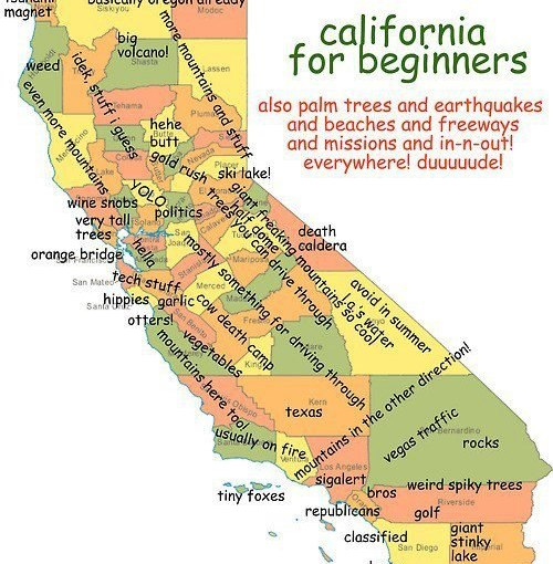 A Few Things, California…