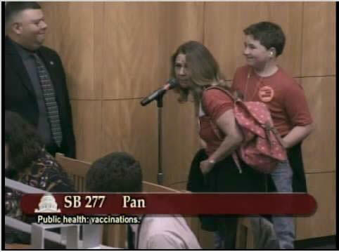 Private Citizens Taking a Stand To End Corruption In California State Government Over SB277…