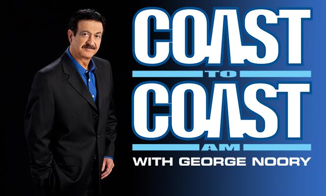 Kent Heckenlively to be Interviewed on George Noory's Coast-to-Coast Thursday 1/12/17…