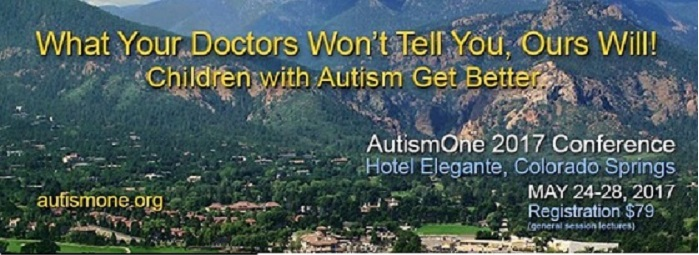 The AutismOne 2017 Conference is May 24-28!!!