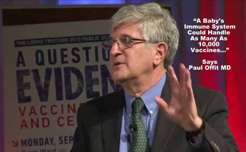 "Paul Offit MD – The Pro-Vaxxer's ""CLOWN PRINCE"""