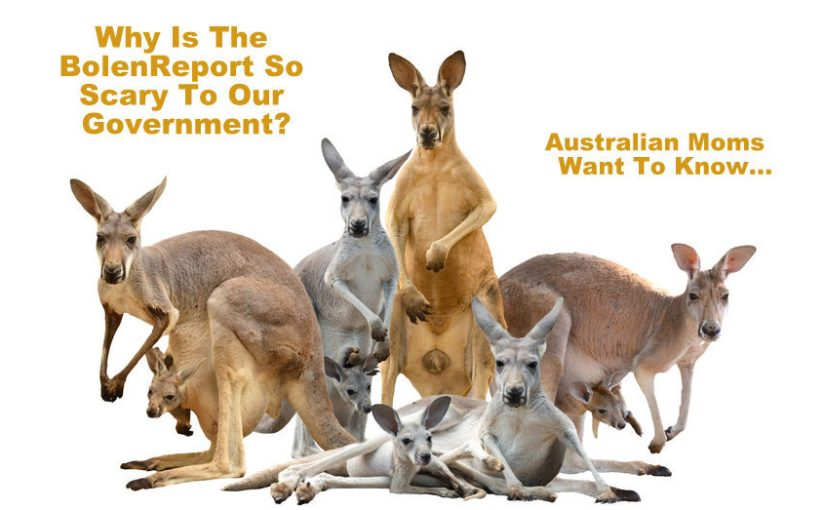 BolenReport Terrifies Australian Government?