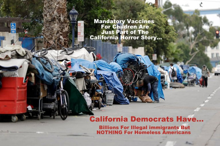 California Democrats Are Unwilling to Address State's Homeless Problems…