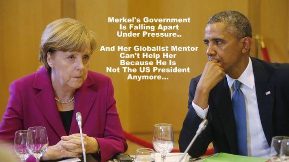 Merkel and Main Stream Media (MSM) working towards Martial Law in Germany…