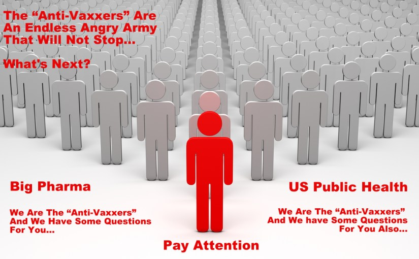 """Anti-Vaxxers"" Have Stepped Up To The Main Battleground…"