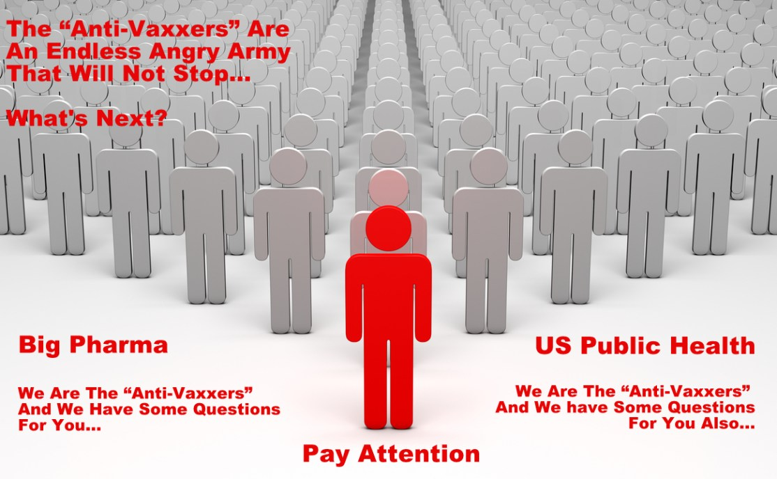 """""""Anti-Vaxxers"""" Have Stepped Up To The Main Battleground…"""