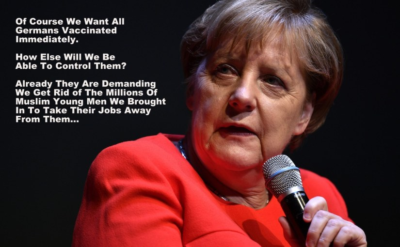 "Will Merkel and all her ""Friends"" soon be arrested as War Criminals?"
