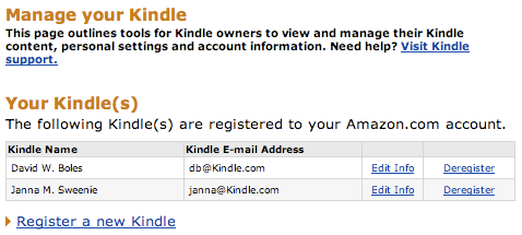 My Kingdom for a Kindle or Two or Six!   David Boles, Blogs