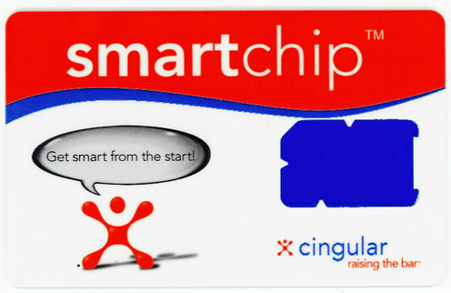 Cingular SIM card