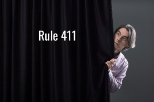 mention of insurance at trial rule 411