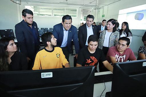 Entrega obras de infraestructura educativa el Gobernador en Purísima del Rincón - Noticias Gobierno del Estado de Guanajuato