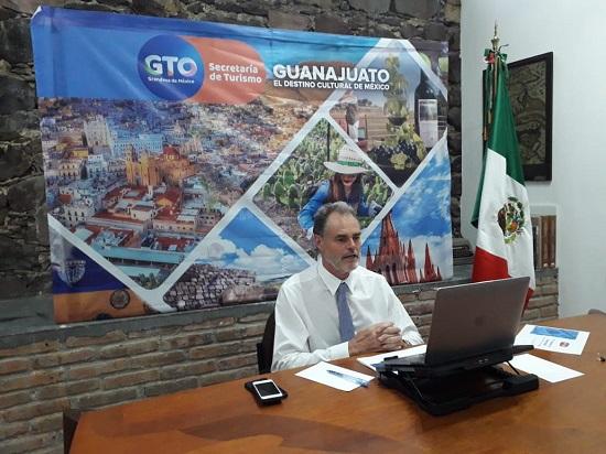 Participa Secretaría de Turismo en Tourism Innovación Summit GTO virtual