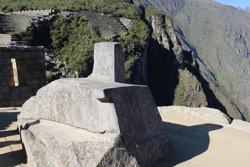 Intihuatana en Machu Picchu