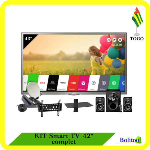 """Kit Smart TV 42"""" complet"""