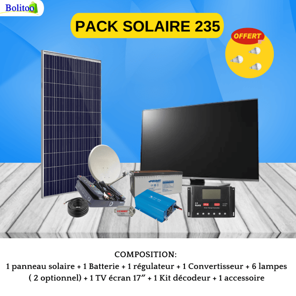 PACK SOLAIRE 235