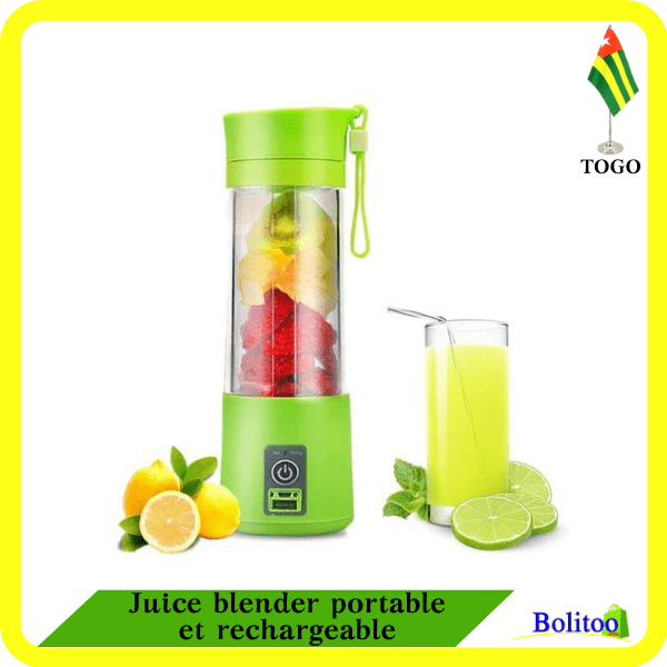 Juice blender portable et rechargeable
