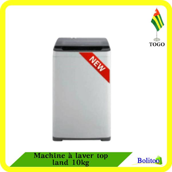 Machine à laver top land 10kg