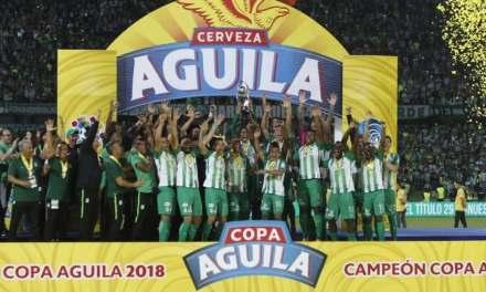 Atlético Nacional es campeón de la Copa Águila