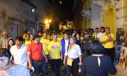 Alcalde Pedrito Pereira invitó a visitantes a practicar un turismo sostenible