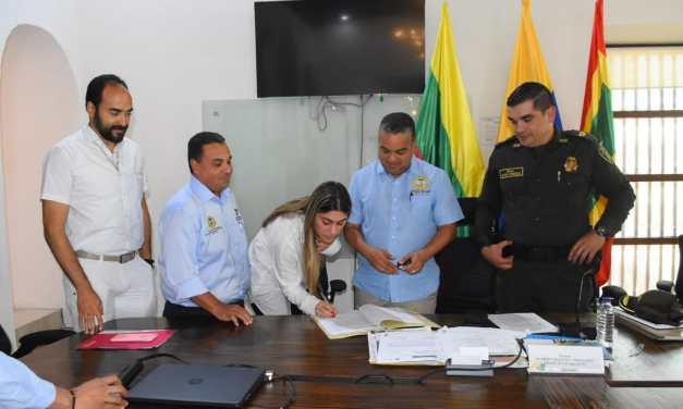 Alcaldía de Cartagena garantiza comunicación de la comunidad con la Policía