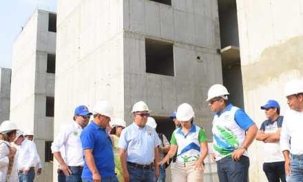 Avanza construcción de la Ciudadela de La Paz