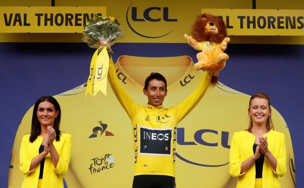 Egan Bernal gana el Tour de Francia