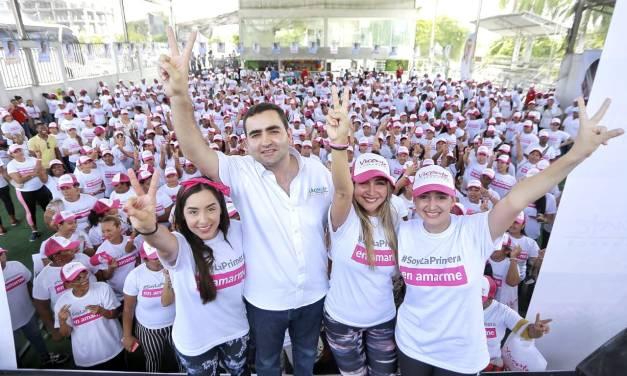 Masivo respaldo de mujeres Bolivarenses a Vicente Blel