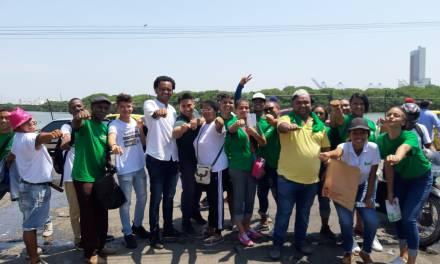 Armando Córdoba, candidato a la Alcaldía de Cartagena recorrió Basurto