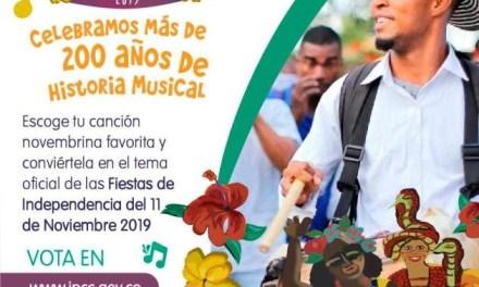 Los cartageneros podrán escoger el tema oficial de las fiestas de independencia 2019
