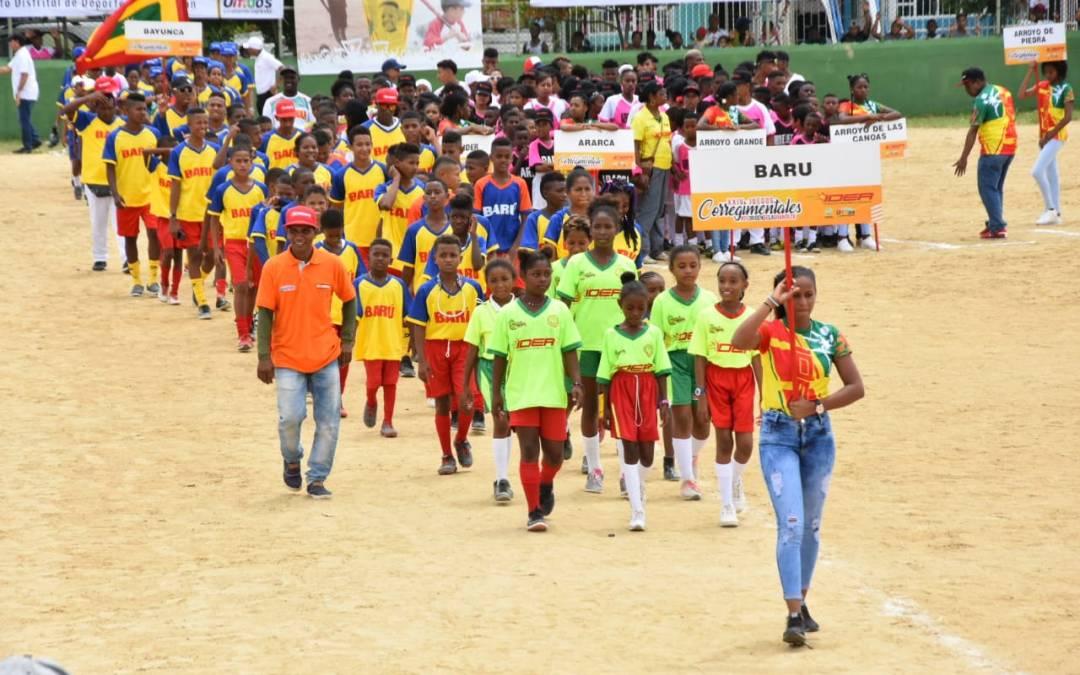 La Alcaldía y el IDER inauguran los Juegos Deportivos Corregimentales 2019