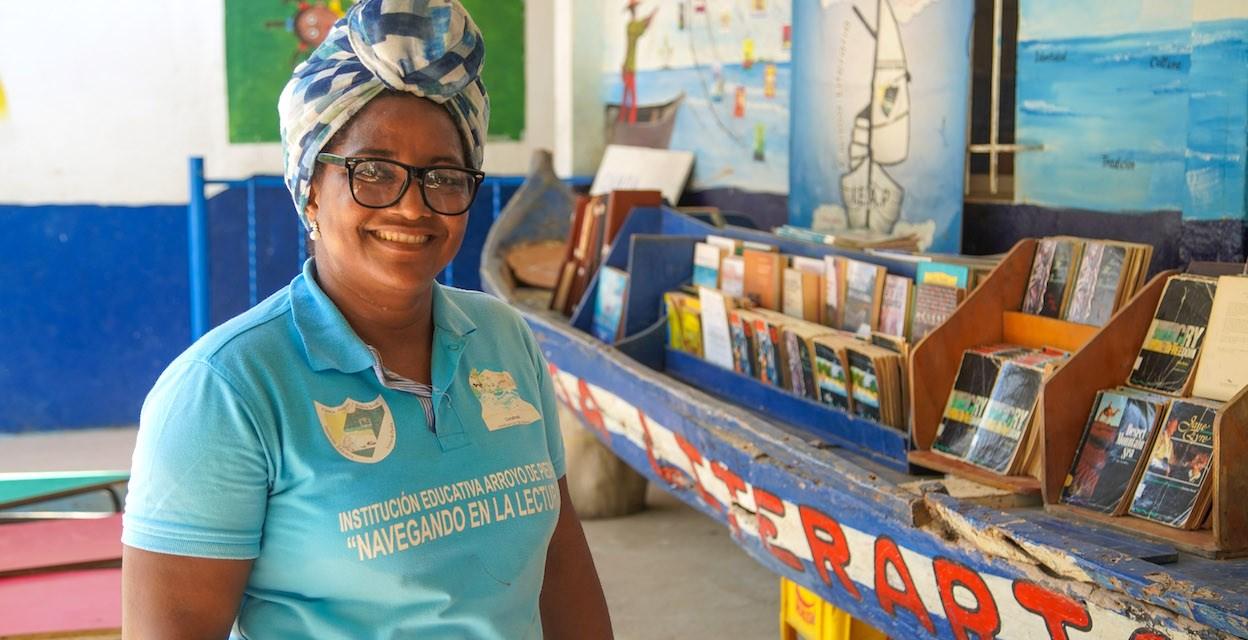 Bolivarense Positivo: Jildre, maestra que genera un mundo de letras desde Arroyo de Piedra