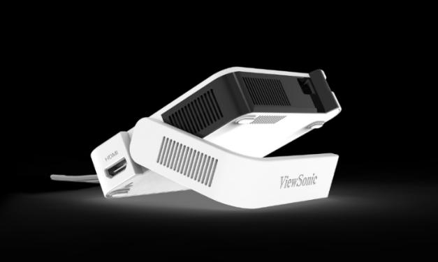 ViewSonic presenta M1 Mini, su nuevo proyector LED compacto y ultra portátil