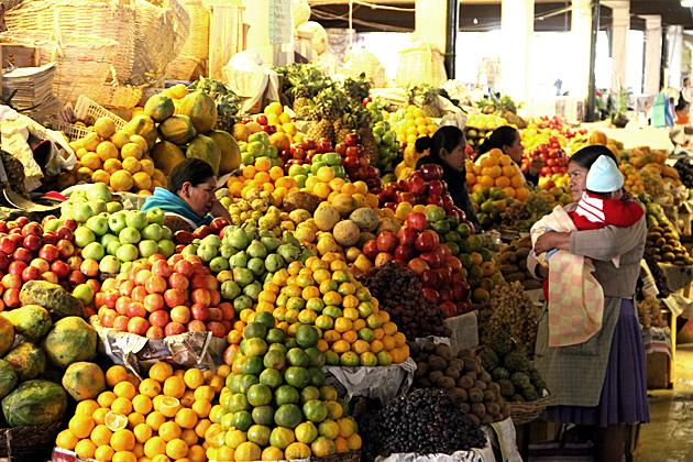 The Mercado Central of Sucre - Bolivia For 91 Days