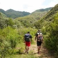 Starting our trek