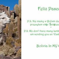 Feliz Pascua! - Easter in Bolivia *** Święta Wielkanocy  w Boliwii
