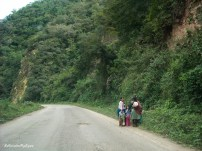 on the way to Samaipata