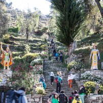 Isla del Sol (Inca stairs)