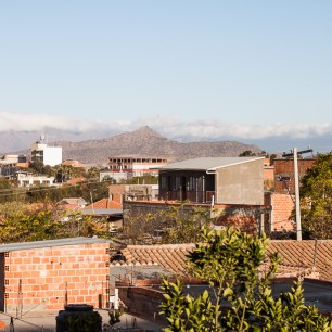 Hotel Altiplano, view from the tarrace