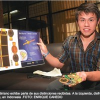 Bolivian won gold medal in astronomy: Fernando Justiniano