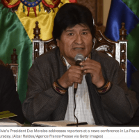 Bolivia's president isn't lowering his sights despite a scandal worthy of a telenovela