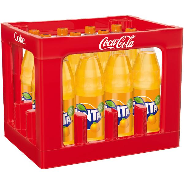Fanta Orange Kasten 12 x 1,0L Mehrweg