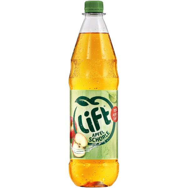 Lift Apfelschorle – 1,0L PET-Flasche Mehrweg