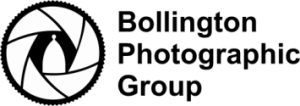 Bollington Photographic Group new horizontal logo e