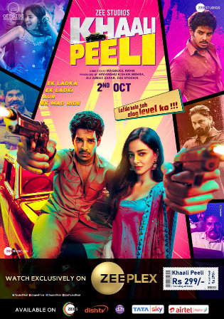 Khaali Peeli 2020 WEB-DL 300Mb Hindi Movie Download 480p Watch Online Free bolly4u Khatrimaza 9xmovies worldfree4u