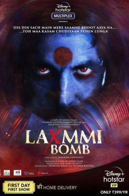 Laxmmi Bomb (Laxmii) 2020 WEB-DL 450Mb Hindi Movie Download 480p