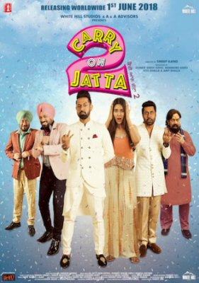 Carry On Jatta 2 2018 HDRip 300MB Hindi Dubbed 480p Watch Online Full Movie Download Bolly4u