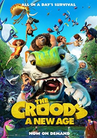 The Croods A New Age 2020 BRRip 300Mb English 480p ESubs Watch Online Full Movie Download bolly4u
