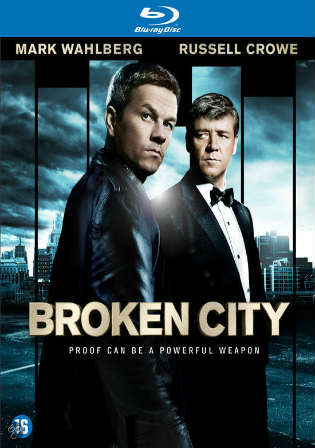 Broken City 2013 BRRip 350Mb Hindi Dual Audio 480p ESub Watch Online Full Movie Download bolly4u