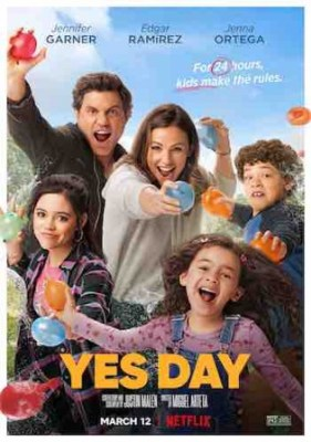 Yes Day 2021 WEB-DL 650Mb Hindi Dual Audio 720p Watch Online Full Movie Download bolly4u