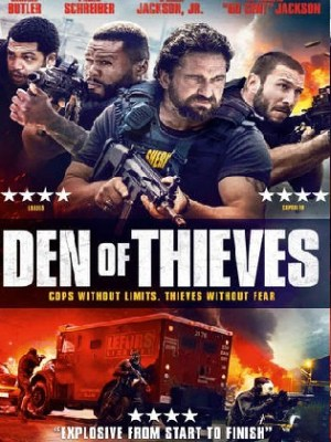 Den of Thieves 2018 BluRay 1.1Gb Hindi Dual Audio 720p